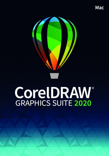 Aktion: CorelDRAW GraphicsSuite 2020 Vollversion, Mac, Download