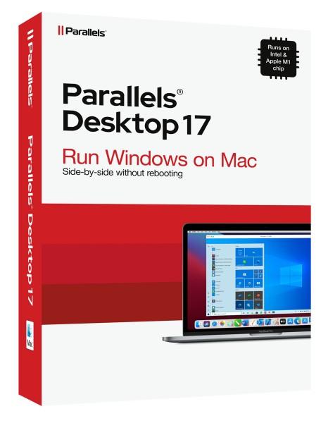 Parallels Desktop 17 Standard für MAC *Dauerlizenz* BOX