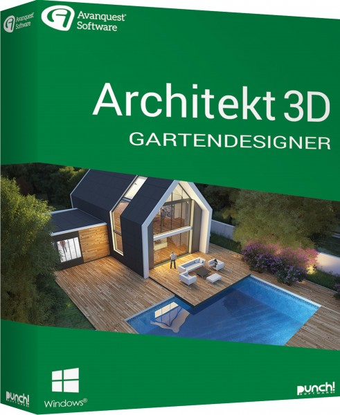 Architekt 3D 21 Gartendesigner, Windows64-Bit, Download
