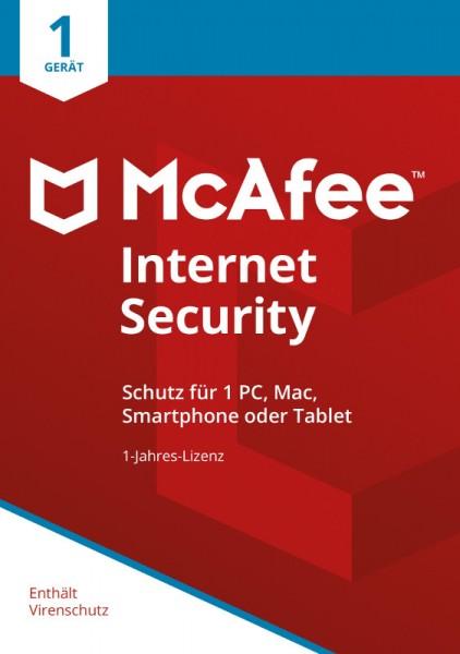 McAfee Internet Security (2018) 1 Gerät 1 Jahr Download