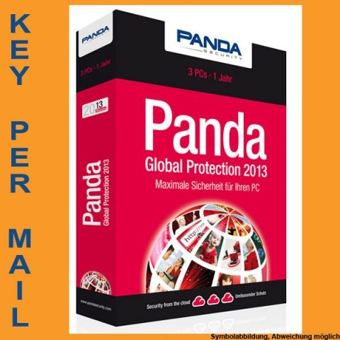 Panda Global Protection, 3 PC, 1 Jahr, KEY