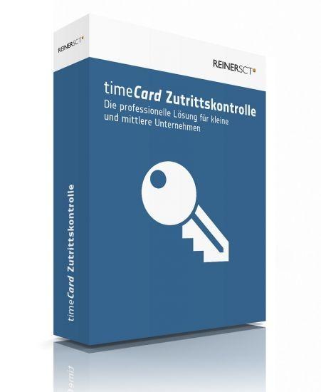 REINER SCT timeCard 6 Zutrittskontrolle Basis 5 Mitarbeiter Lizenz+DVD Box