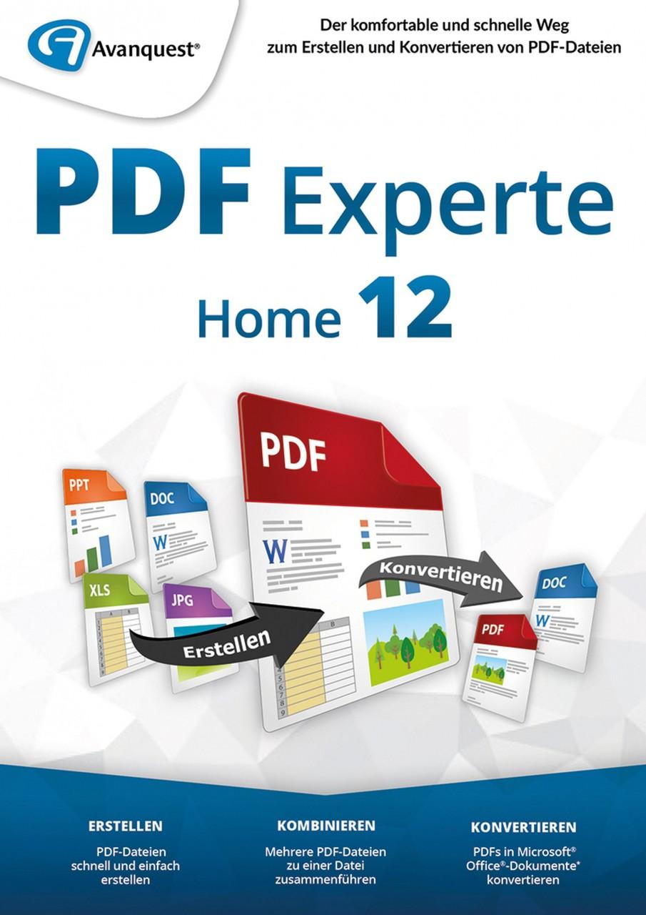 AvanQuest PDF Experte 12 Home #Key (ESD) AQ-11957-LIC