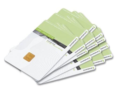 Chipdrive Timerecording User Card 15 Stück