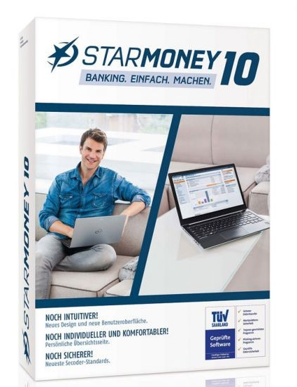 StarMoney 10.0 Vollversion, Box