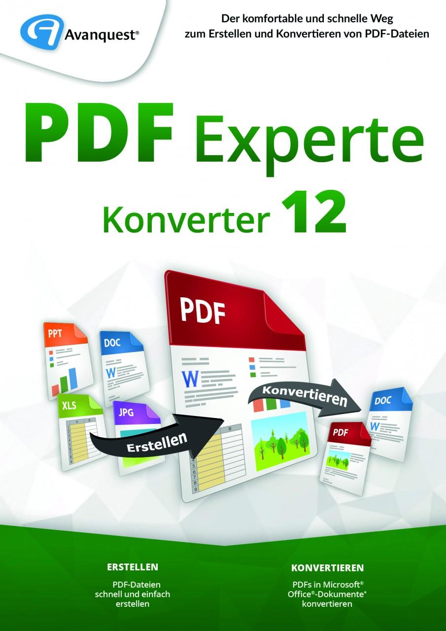 AvanQuest PDF Experte 12 Konverter #Key (ESD) AQ-11967-LIC