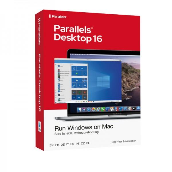 Parallels Desktop 16 Standard für MAC *1-Jahr* BOX