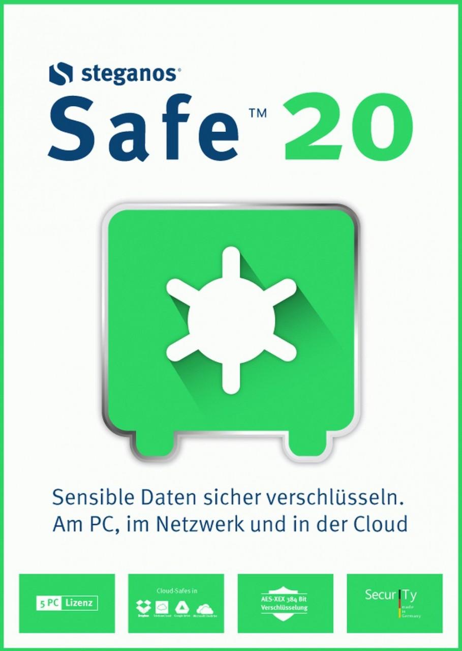 Steganos Safe 20 #Key (ESD) ST-11992-LIC