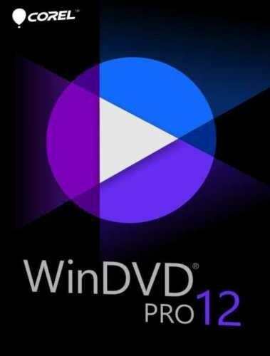 WinDVD Pro 12, 3D/Blu-ray, HD/4K DVD-Player für Windows, Upgrade