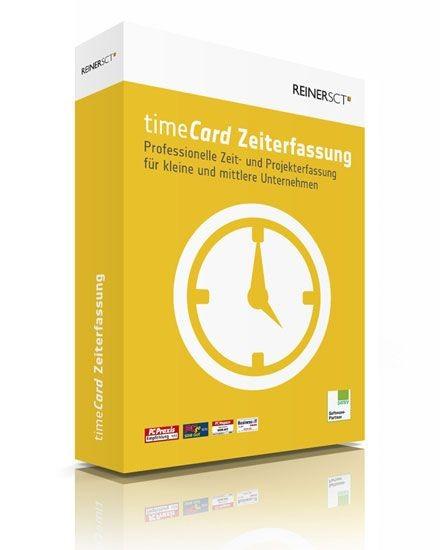 Reiner SCT timeCard 6 Zeiterfassung für 5 Mitarbeiter