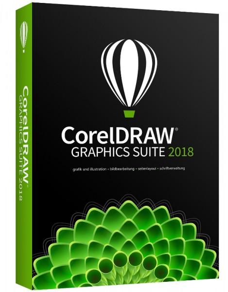 Corel DRAW Graphics Suite 2018 Vollversion Deutsch BOX