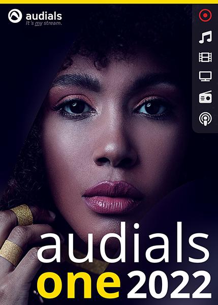 Audials 2022 ONE, Download, Dauerlizenz