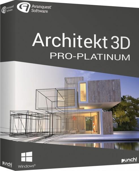 Architekt 3D 21 Pro-Platinum, Windows, Download