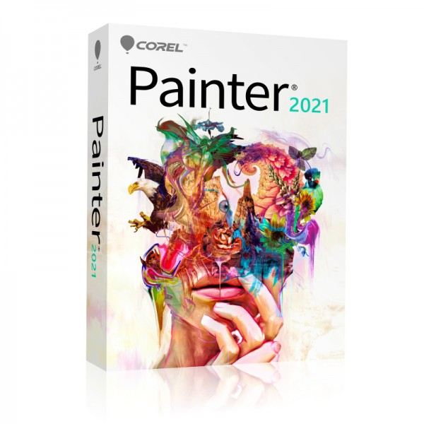 COREL Painter 2021 Upgrade DEUTSCH Windows/Mac Slim-Case