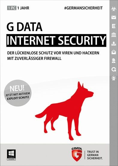 G DATA InternetSecurity, 1 User, 1 Jahr, KEY