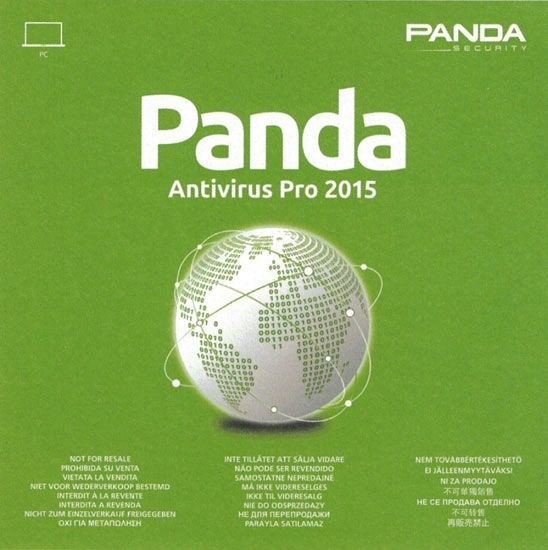 Panda Antivirus Pro 2015 OEM, 1 User, 1 Jahr, Key