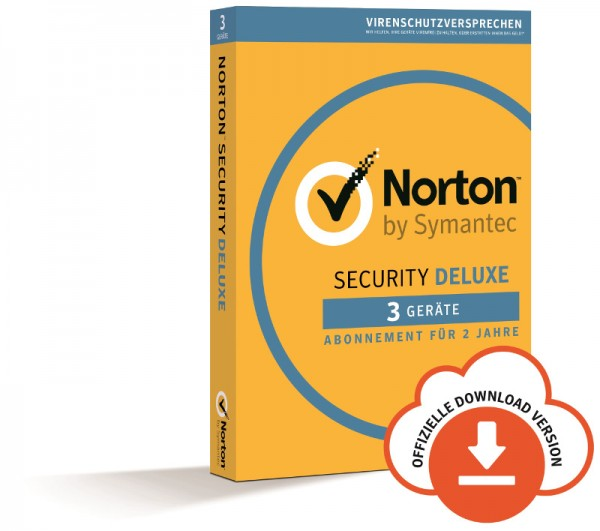 NORTON SECURITY Deluxe 3.0, 3 Geräte, 2 Jahre, Download
