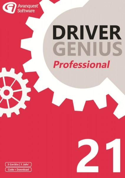 Driver Genius 21 Professional, 3 Geräte, 1 Jahr, DOWNLOAD