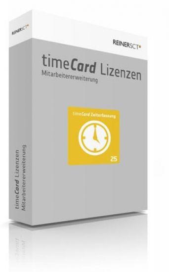 Reiner SCT timeCard 6 Zeiterfassung ERWEITERUNG für 25 Mitarbeiter