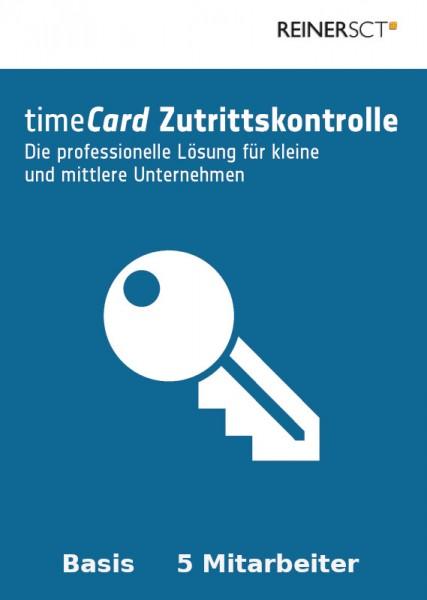 REINER SCT timeCard 6 Zutrittskontrolle Basis 5 Mitarbeiter ESD