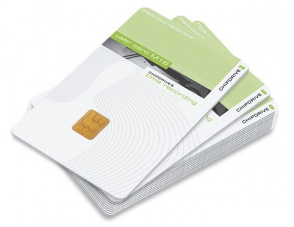 Chipdrive Timerecording User Card 25 Stück