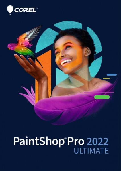 COREL PaintShop Pro 2022 ULTIMATE, Windows 10 64-Bit, Deutsch, Download