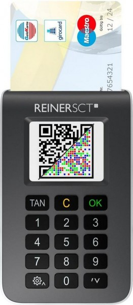 ReinerSCT tanJack photo QR - TAN-Generator für Sm@rt-TAN photo und chipTAN QR