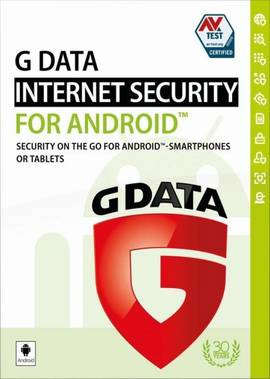 G DATA Mobile Internet Security für Android 2017, 1 Gerät, 1 Jahr, Download