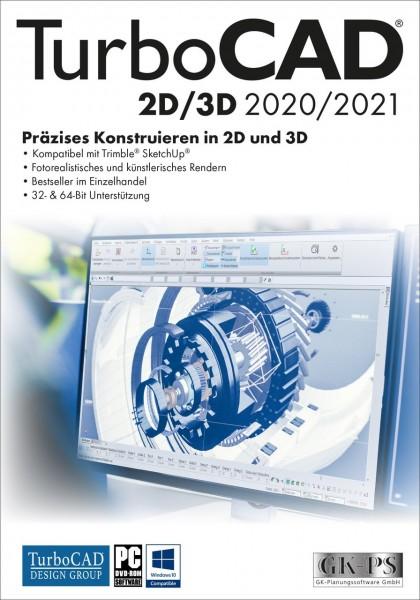 TurboCAD 2D/3D 2020/2021, Windows 64-Bit, Download