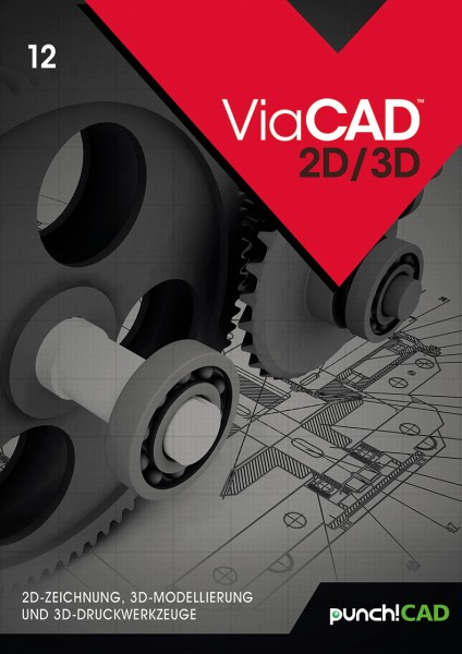 ViaCAD 12 2D/3D, Windows 64-Bit, Download