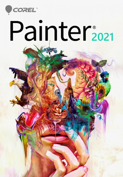 COREL Painter 2021 Upgrade Windows/Mac Deutsch, Download