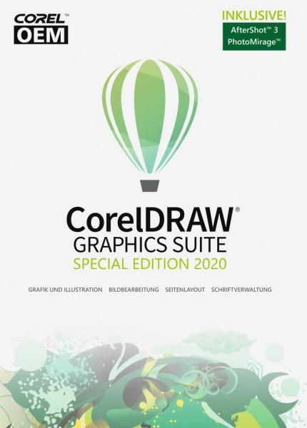 CorelDRAW Graphics Suite SpecialEdition 2020 OEM +AfterShot3+FotoMirage Download