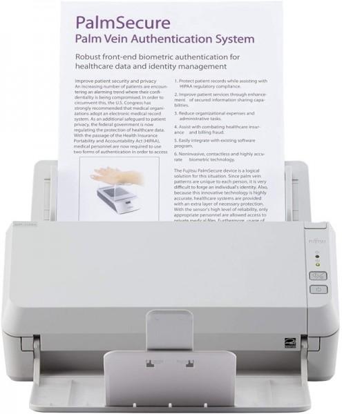 Fujitsu SCANSNAP SP-1120N Dokumentenscanner Duplex, TWAIN/ISIS Unterstützung, USB/LAN
