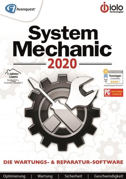System Mechanic 2020 #PKC (Karte mit Key und Download-Link)