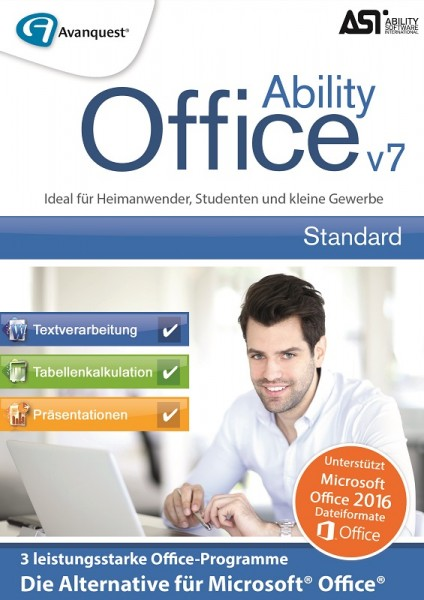 Ability Office 7 - Die zuverlässige Office-Alternative #Key (ESD)