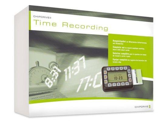 SCM Chipdrive Timerecording mobile USB 25-User-StarterKit (neuste Version 7.5)
