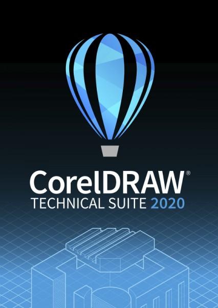 CorelDRAW Technical Suite 2020 Upgrade Deutsch, Windows, Download