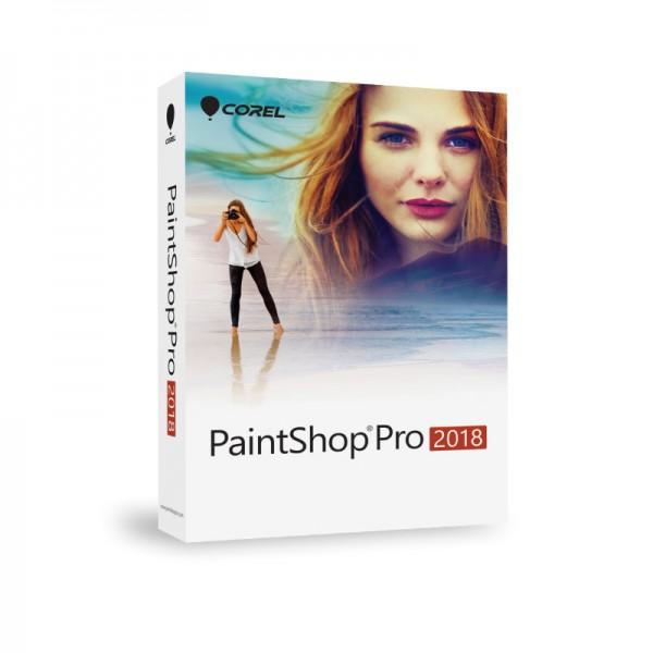Corel PaintShop PRO 2018 Deutsche BOX
