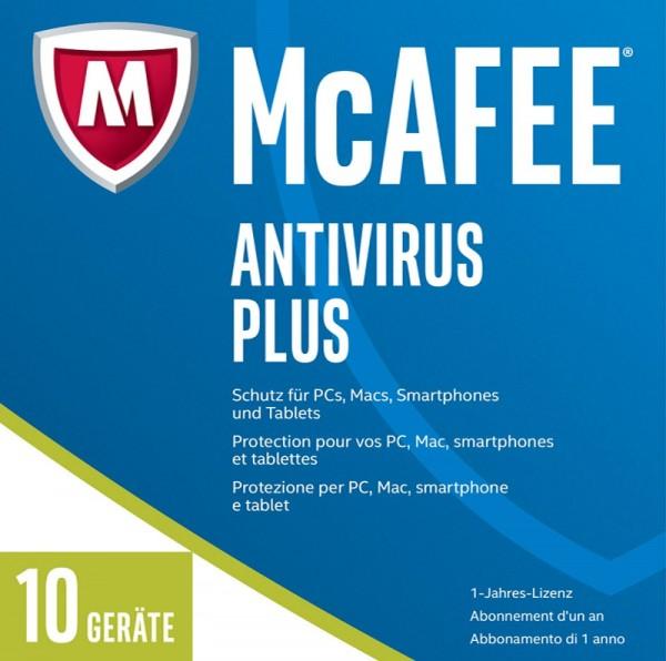 McAfee 2017 AntiVirus Plus 10 Geräte, Download