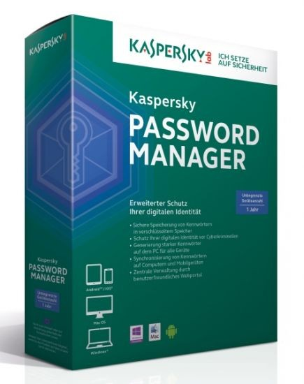 Kaspersky Password Manager #BOX