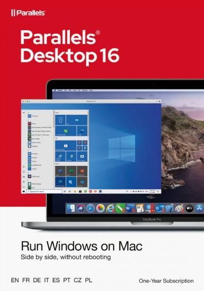 Parallels Desktop 16 Standard für MAC *1-Jahr* Download