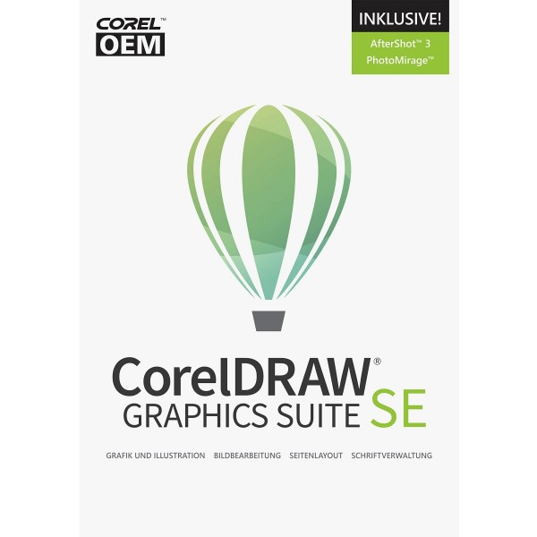 CorelDRAW Graphics Suite 2019 Special Edition OEM +AfterShot3+PhMirage, Download