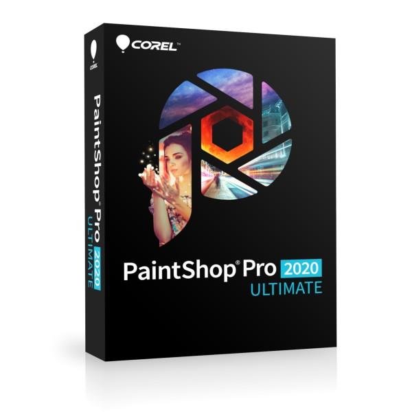 Corel PaintShop PRO 2020 ULTIMATE, Deutsch, BOX