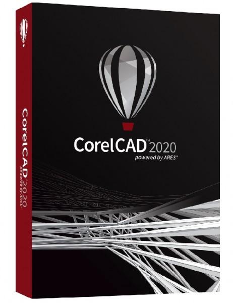 CorelCAD 2020 Windows/Mac, DVD-Box