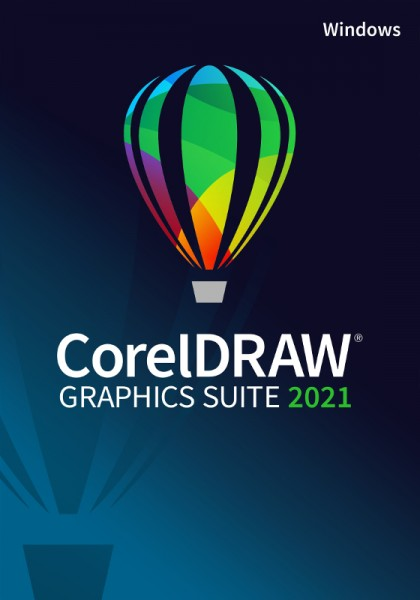 CorelDRAW Graphics Suite 2021, Windows10, Deutsch, Download