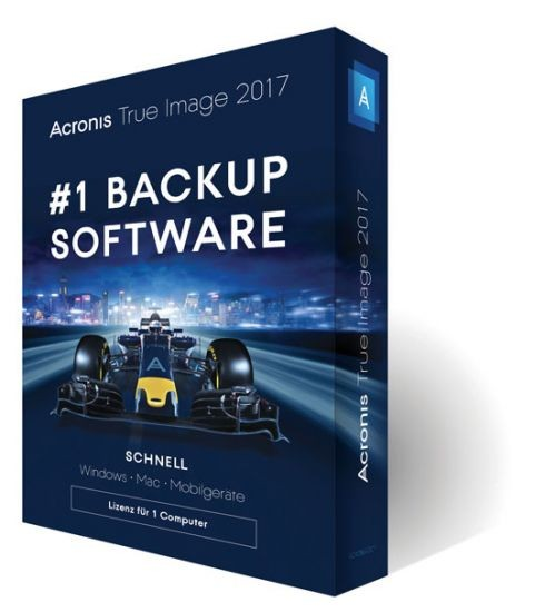 Acronis True Image 2017, BOX, Dauerlizenz