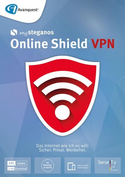 mySteganos Online Shield VPN #Key (ESD)