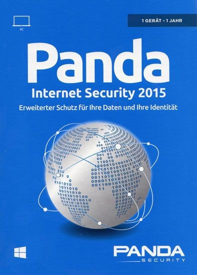 Panda Internet Security 2015, 1 User, 1 Jahr, KEY