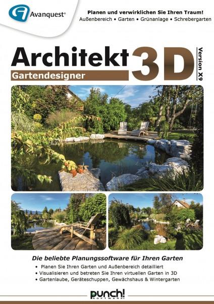 Architekt 3D X9 Gartendesigner #Key (ESD)