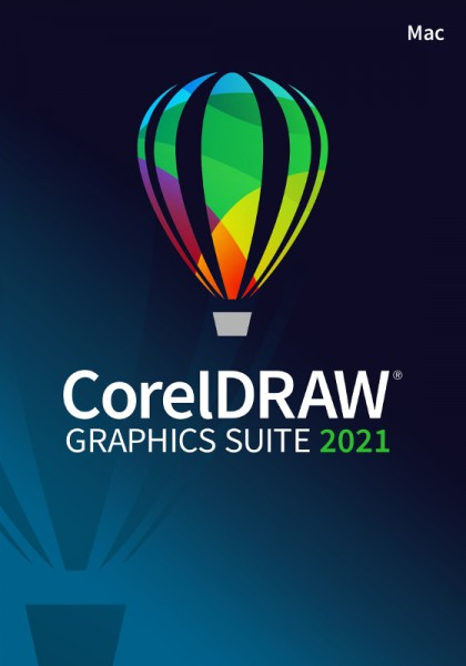 CorelDRAW Graphics Suite 2021, Mac, Deutsch, Download